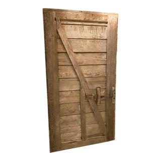 Authentic Rustic Barn Door