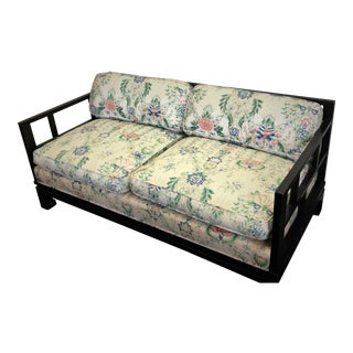 1940s Vintage Chinese Chippendale Daybed