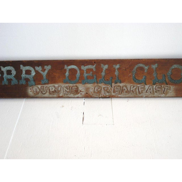 Folky Original Painted Trade Sign, Early 20th Century - Image 2 of 6
