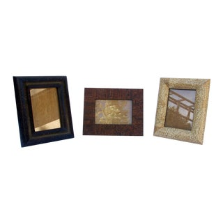 Hand-Made Picture Frames - Set of 3