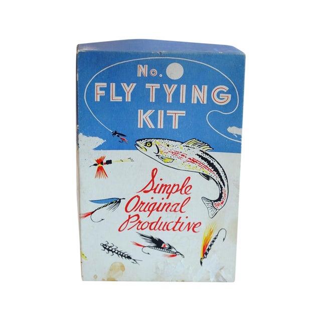 Image of Vintage Fly Tying Kit