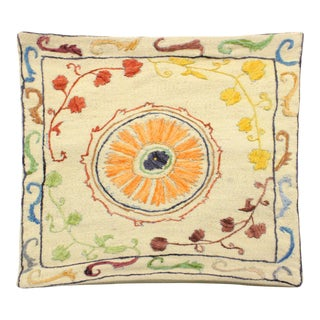 Embroidered Pillow Throw Cover