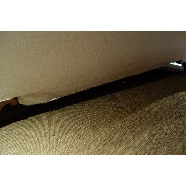 Camel Back Reupholstered Sofa - Image 6 of 6