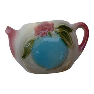 1950s Ceramic Teapot Wall Vase
