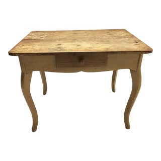 Antique Distressed Farm Table