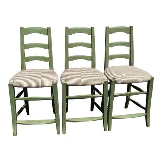 Set of 3 Minton Spidell French Country Bar Stools