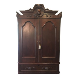 Antique Traditional Style Armoire