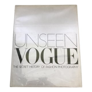"""Unseen Vogue"" 2002 Fashion Photography Book"