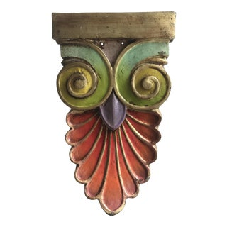 Architectural Tribal Wall Element