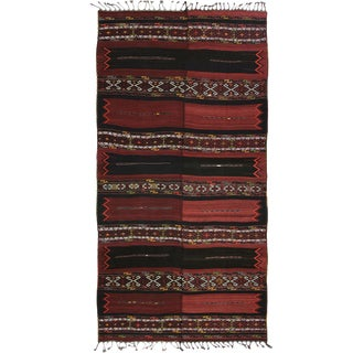 XL Antique Turkish Sivas Kilim Flatweave -- 7'4 x 18'4