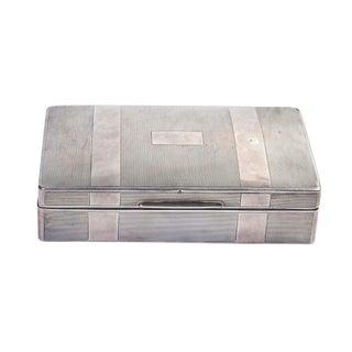Silver Cigarette Box III