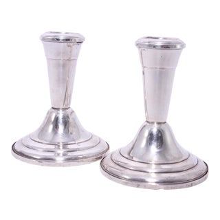 Vintage Frank Whiting Candle Holders - A Pair