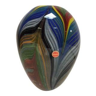 Murano Contemporary Feather Vase