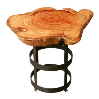 Vosay Collection Charles Live Edge Accent Table