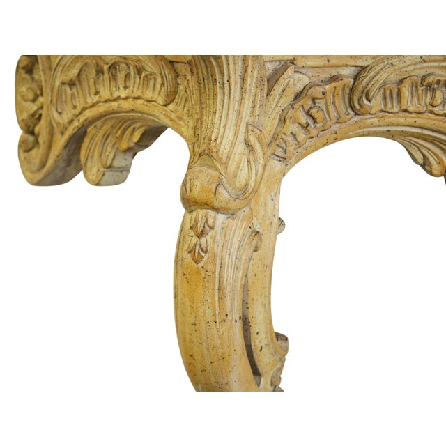 Vintage Onyx-Top French-Style Console Table - Image 5 of 6