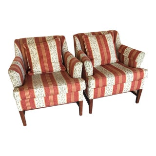 Classic Gallery Club Chairs - A Pair