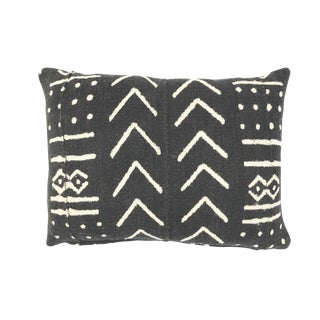 African Mudcloth Black & White Pillow Cover 12 X 16