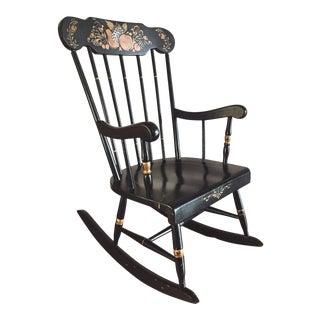 Thayer Antique Child's Rocking Chair