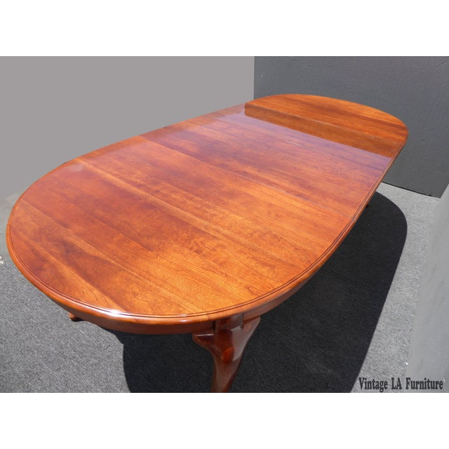 American of Martinsville Dining Room Table - Image 3 of 11