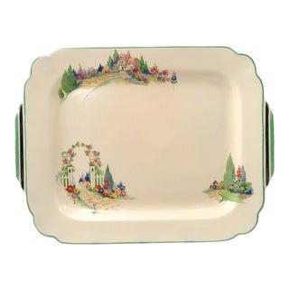 Vintage Homer Laughlin Wells English Garden Platter