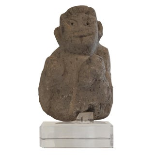 Pre-Columbian Fragment on Lucite Base