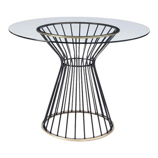 "West Elm Hourglass 42"" Round Dining Table"