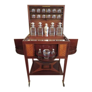 19th C French Art Deco Drinks Cabinet by Maison Boin-Taburet