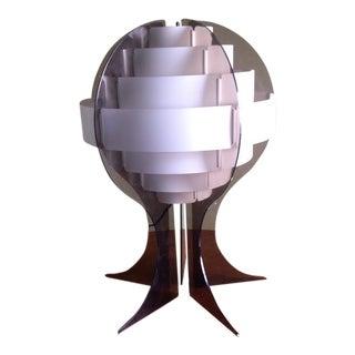 Flemming Brylle & Preben Jacobsen Acrylic Lamp