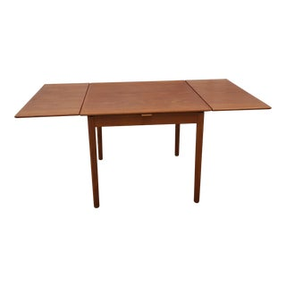 Danish Modern Draw Leaf Dining Table