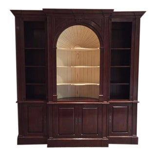 Harden Goddard Solid Cherry Library Cabinet