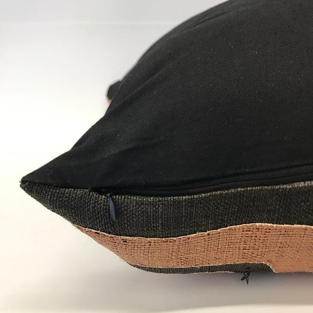 African Kuba Cloth Pillow - Image 5 of 5