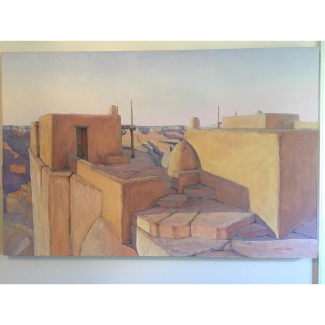 "Bob Howard ""On the Rim"" Oil Painting - Image 2 of 10"