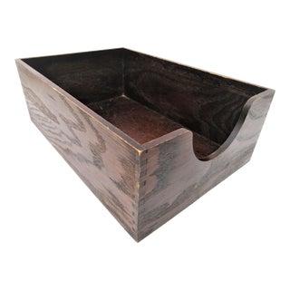 Vintage Dovetailed Storage Box