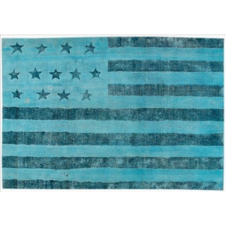 "Apadana Over-Dyed Rug, 6'2"" X 9'2"""