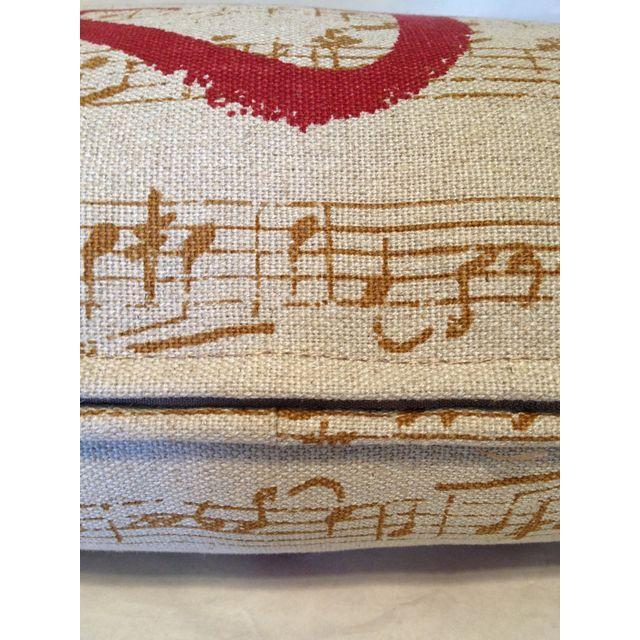 Custom Music Clef Pillow - Image 4 of 5