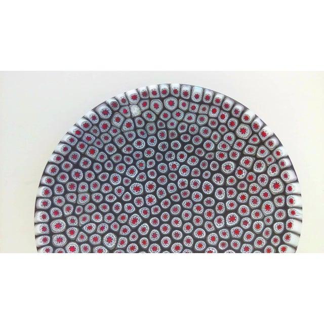Millefiori Murrine Plate by Ercole Moretti Italy - Image 4 of 7