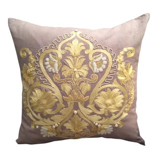 Callisto Home Embroidered Pillow