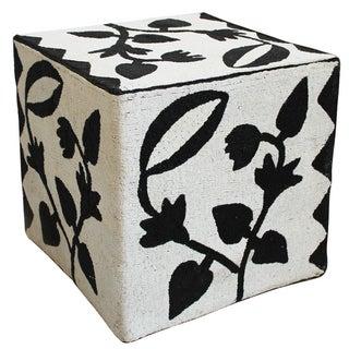 Nigerian Beaded Yoruba Cube Stool