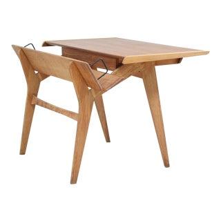Oak Desk or Secretaire by Hartmut Lohmeyer
