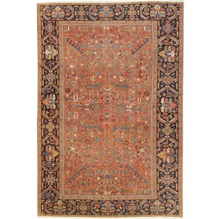 "Apadana Antique Persian Heriz Rug - 7'5"" x 11'"