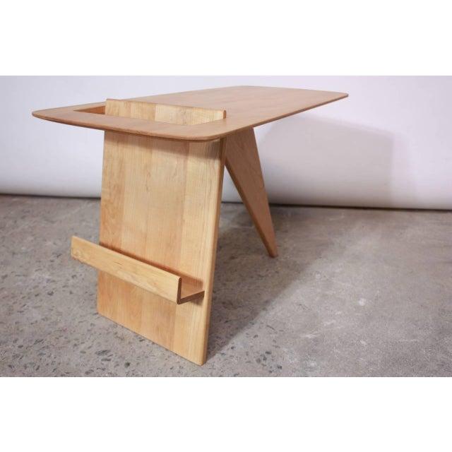 Early Birch Jens Risom Magazine Table Model T-539 - Image 4 of 10