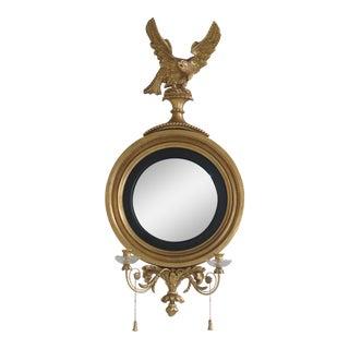 Friedman Brothers Colonial Williamsburg CW-2 Bullseye Girandole Mirror