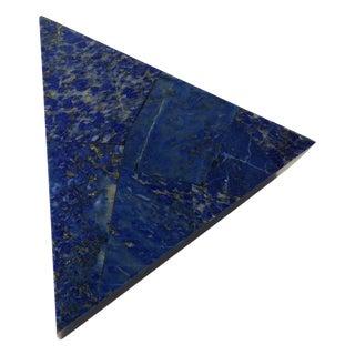 Lapis Lazuli Blue Triangular Box