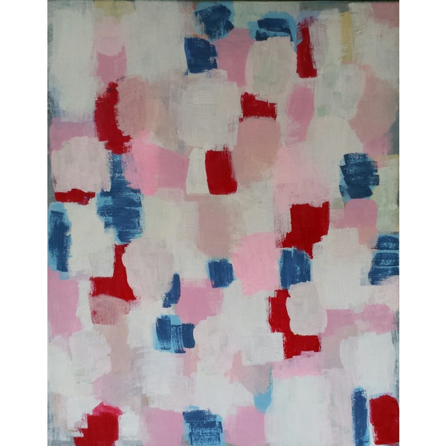 """Abstract Painting """"Chantelle"""" by Susie Kate - Image 1 of 3"""