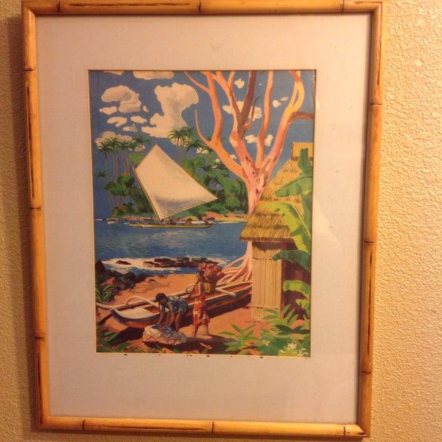 Image of Millard Sheets Original 1947 Signed Lithograph