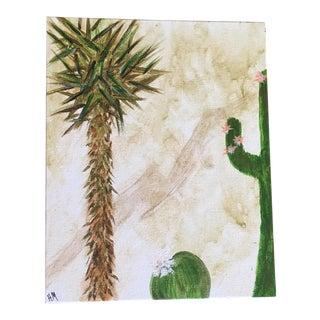"""Joshua Tree"" Desert Cactus Original Painting"