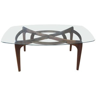 Adrian Pearsall Sculptural Walnut Dining Table