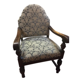 Country French Oak Chair