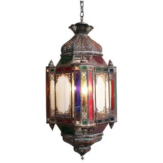 Moroccan Multicolored Lantern