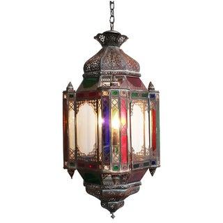 Moroccan Multicolored Lantern